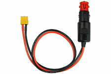 ISDT Adapter Compatible with XT60 Socket <=> Cigarette Lighter Plug 180W