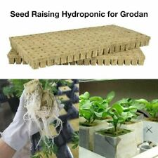 Seed Growth Rock Wool Cubes Compress Base Ventilative Hydroponic Garden Supplies