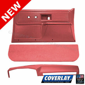 Red Interior Accs. Kit 18-602C34N-RD For Blazer K5 Front Left Right -Coverlay
