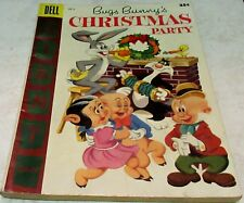 Bugs Bunny's Christmas Party 6, (FN+ 6.5) 1955, 100 pages! 40% off Guide