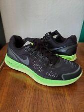 Nike Lunarglide+ 4 Shield  running shoe  Black green  537475-003 men's size 9