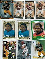 (20) 2013 EDDIE LACY ROOKIE LOT NICE MIX GREEN BAY PACKERS