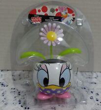 Disney Daisy Duck Flower Pot w/Solar Powered Dancing/Bobble