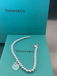Return to Tiffany Kugelarmband Emaille-Glasur in Tiffany Blue 18cm