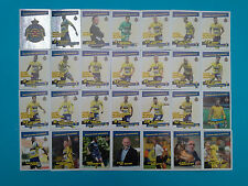 PANINI PRO LEAGUE 2016 FOOT BELGIUM WAASLAND-BEVEREN COMPLETO