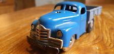 Altes Spielzeugauto Blechspielzeug Schuco Varianto Lasto 3042 US-Zone blau läuft