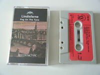 LINDISFARNE FOG ON THE TYNE CASSETTE TAPE 1971 RED PAPER LABEL CHARISMA UK