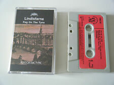 LINDISFARNE FOG ON THE TYNE CASSETTE TAPE 1971 RED PAPER LABEL CHARISMA UK