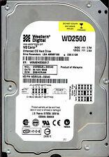 WD2500JB-00EVA0,  DSBHCRJAA  WESTERN DIGITAL IDE 250GB