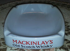 Mackinlays Old Scotch Whisky Ashtray - Wade England - Rare
