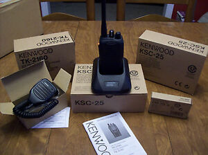 Kenwood TK-2160 VHF Handheld Two Way Radio! With all Accessories! Always New!