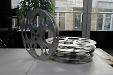 Large Antique Metal Film Roll (9 Available)