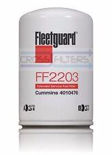 Fleetguard FF2203 Fuel Filter,  for Cummins 4010476 Kenworth Trucks  (Pack of 6)