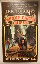 J R R TOLKIEN, Gerald LIENTZ / Middle Earth Quest Rescue in Mirkwood PBO 1st ed