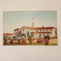 "Vintage Red Cross House Presidio San Francisco Ca Postcard 3.5"" x 5.5"" Post Card"