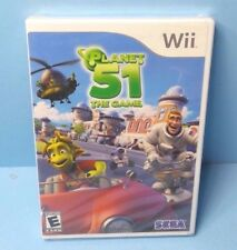Planet 51: The Game (Nintendo Wii, 2009) BRAND NEW FACTORY SEALED