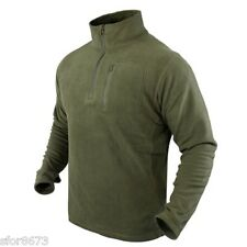 CONDOR 1/4 ZIP 607 FLEECE PULLOVER BASE LAYER PATROL NORGIE MICROFLEECE TACTICAL