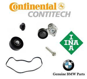For BMW OEM Belt Tensioner Kit Pulley Belt Bolt Tensioner