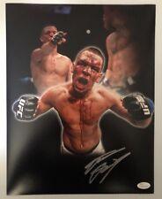 Nate Diaz Signed Autographed 11x14 Photo UFC MMA CHAMP JSA WITNESS COA 5