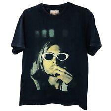 VTG 2005 Nirvana AC/DC Last Days (Film) Tupac Selena Movie Promo Tee Shirt (MED)