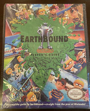 Earthbound Nintendo SNES Players Guide W/ Scratch n Sniff! Read Description