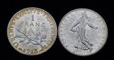 1 Franc Semeuse 1915 - Argent 835°/00