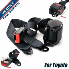 For Toyota 1Set 3 Points-Fixed Auto Car Harness Safety Safe Seat Belt Universal