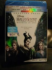 MALEFICENT: Mistress of Evil Blu-Ray + DVD with Slipcover
