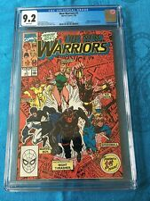 New Warriors #1 - Marvel - CGC 9.2 White Pages - Origin