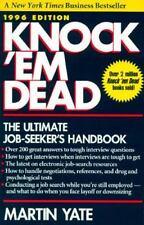 Knock 'em Dead, 1996 : The Ultimate Job Seeker's Handbook by Martin J. Yate