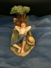 """Norman Rockwell """"Spring Fever"""" Collectible Figurine-Mint"""