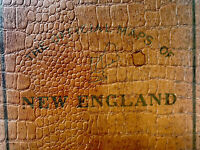 The Official Maps Of New England, The National Survey Company VTG Book 1920's