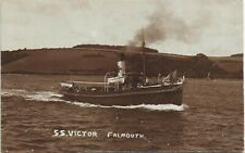 Falmouth. SS Victor. Steamer.