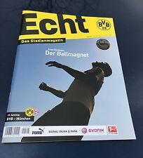 Programm Borussia Dortmund - FC Bayern München 05.03.16 FCB Programmheft