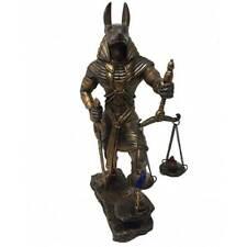 Anubis mit Schale bronziert
