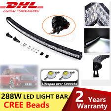 """50"""" 288W Incurvée barre de led light bar Offroad Phare 4x4 Quad Rampe de travail"""