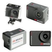 BRAUN CHAMPION 4K II Ultra HD Action Kamera, WI-FI, HDMI, bis 30m Wasserdicht