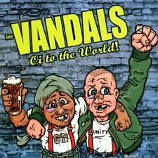 Vandals Oi! To The World Vinyl LP Record! punk rock Christmas with vandals! NEW!