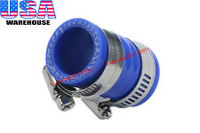 """For Yamaha Blaster High Temp Rubber Exhaust Coupling Clamp 1"""" Id Yfs200 Blue 1Pc"""