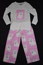 Girl's Sparkly Cat flannelette pyjamas, size 4