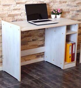 Schreibtisch Schülerschreibtisch  Büromöbel PC-Tisch Büromöbel WEIß ROSA Braun
