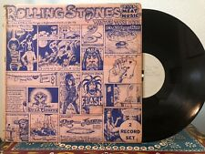 THE ROLLING STONES all meet music rare 2xLP unofficial blues rock