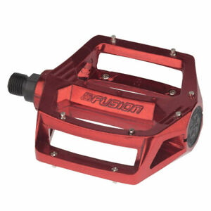 """Haro Fusion Pedals 9/16"""" Red"""