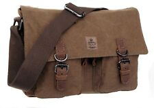 Troop Heritage Canvas Messenger Bag: TRP0422