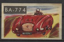 IFA Racing Car 1954 Vintage 1950s Dutch Trading Card No. 136