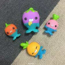Lot 4Pcs Fisher-Price Octonauts THE VEGIMALS Tunip Figures Playset Kids Toys