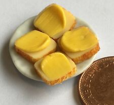 1:12 Maßstab Rund Metall Jelly Form Tumdee Puppenhaus Miniatur Küche Essen