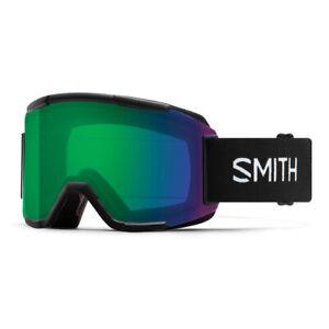 Smith Squad   Snow goggles   Black / Green Mirror