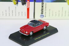 Kyosho 1/64 VW Karmann Ghia Red Volkswagen Miniature car Collection 2008