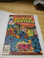 Black Panther #1 (Marvel Comics 1977) Jack Kirby story, cover & art